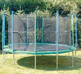 Trimilin Fun Trampolin Outdoor Sicherheitsnetz