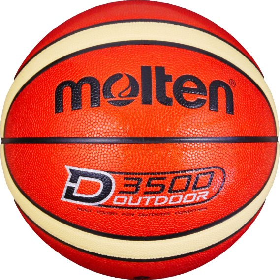 Molten Basketball B7D3500, Orange/Creme (Shiny Optic),...