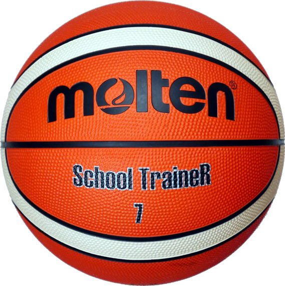 Molten Basketball SchoolTraineR BG7-ST, Orange/Ivory,...