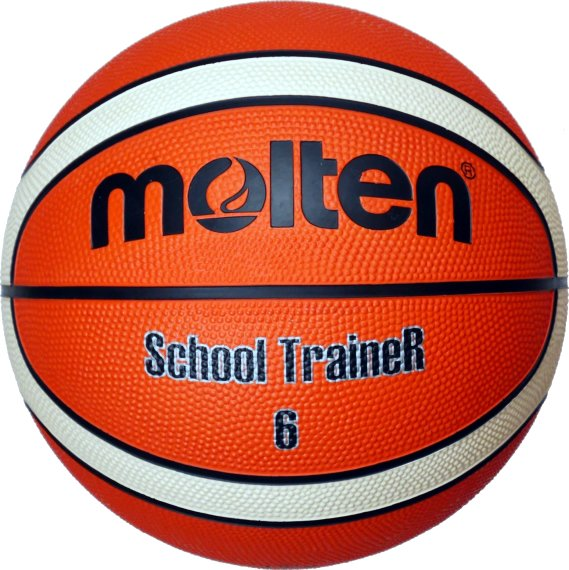 Molten Basketball SchoolTraineR BG6-ST, Orange/Ivory,...