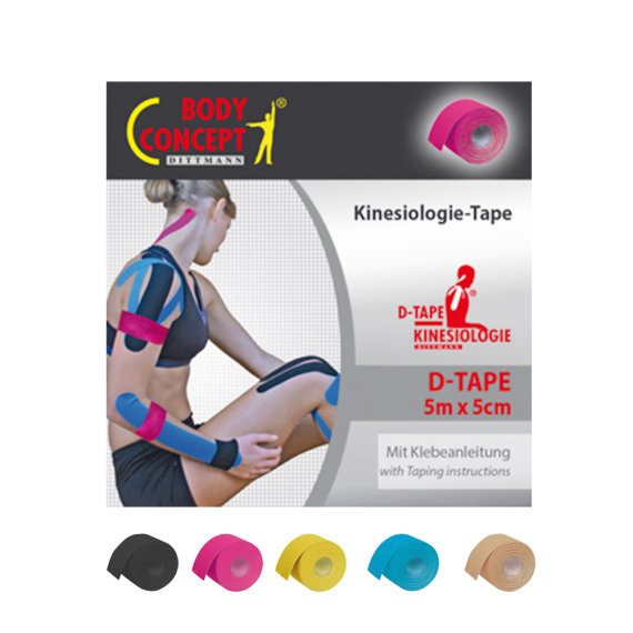 D-Tape Kinesiologie Tape, 5m Rolle