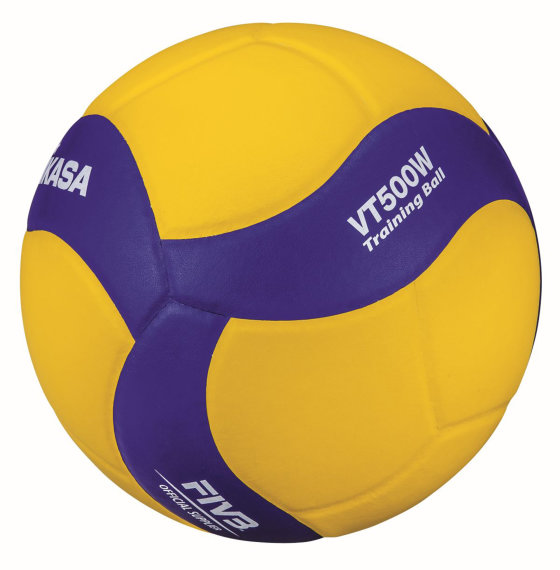 Mikasa Volleyball VT500W, Training Zuspiel, 500 g